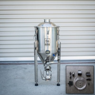 Ss Brewing Technology Inox Conico 7G W/Chilling Package