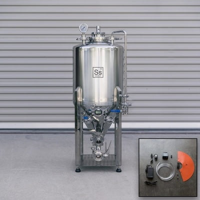 Ss Brewing Technology 1/2 BBL Nano Series Unitank With Heating & Chilling Package